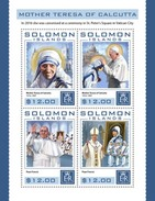 Solomon Eilanden / Solomon Islands - Postfris / MNH - Sheet Moeder Teresa 2016 - Solomoneilanden (1978-...)