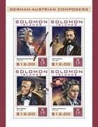 Solomon Eilanden / Solomon Islands - Postfris / MNH - Sheet Dirigenten 2016 - Solomoneilanden (1978-...)