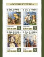 Solomon Eilanden / Solomon Islands - Postfris / MNH - Sheet Christopher Columbus 2016 - Solomoneilanden (1978-...)