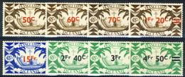 Oceania 1945 Serie N. 172-179 MNH Cat. € 8 - Unused Stamps