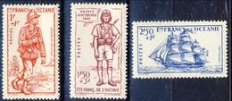 Oceania 1941 Serie N. 135-137 MH Cat. € 10.50 - Unused Stamps