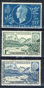 Oceania 1941-44 Serie N. 138-139 E N. 171 MNH Cat. € 5 - Unused Stamps