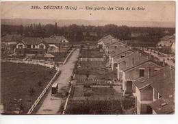 CPA.69.Décines.Une Partie Des Cités De La Soie. - France