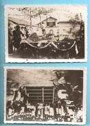 40 - SAUGNAC - Journée De La Terre: 16 Juin 1946: 2 Photos - Autres Communes