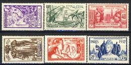 Oceania 1937 Serie N. 121-126 MLH Cat. € 31 - Unused Stamps