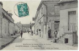 02  SAINTE CROIX  Grande Rue, Sollier Café Débit De Tabac - France