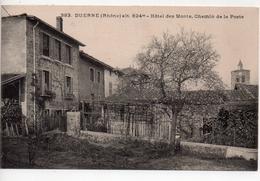 CPA.69.Duerne.Hotel Des Monts Chemin De La Poste. - France