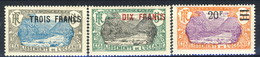 Oceania 1926-27 Serie N. 66-68 MLH Cat. € 51.40 - Unused Stamps