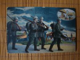 1. Weltkrieg, Gloria Viktoria, Gelaufen 1917 - Guerre 1914-18