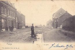 Fosse - La Gare (animée, Nels, 1905....adhésif Sur Le Bas) - Fosses-la-Ville