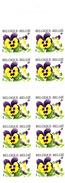 Thematiques Timbres Belgique Lot De 1 Carnet De 10 Timbres 2000 Violette Validité Permanente Equivalent 7.90 Euros - Unused Stamps
