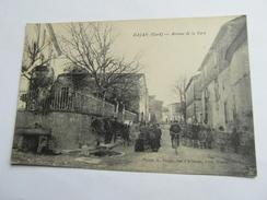 GAJAN  Avenue De La Gare  Animées  30 Gard - France