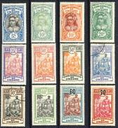 Oceania 1922-27 Serie N. 47-60 (12 Valori) MH Cat. € 17 - Unused Stamps