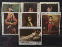 PANAMA 1967 Paintings Of Francisco Goya. USADO - USED. - Panamá