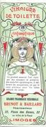 1 Etiquette Ancienne De Pharmacie - VINAIGRE DE TOILETTE ANTISEPTIQUE - PHARMACIE REGIONALE J.BRUNOT - LIMOGES - Labels