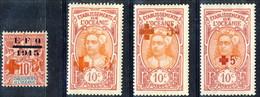 Oceania 1915-16 Serie N. 39-42 MLH Cat. € 84 - Unused Stamps