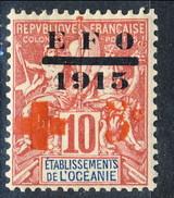 Oceania 1915-16 N. 39 MLH Cat. € 40 - Unused Stamps