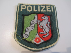 Ecusson Tissu Ancien /Police  / ALLEMAGNE/Années 1970 -1980  ET128 - Ecussons Tissu