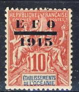 Oceania 1915 N. 38 Sovrastampato MNH Cat. € 10.70 - Oceania (1892-1958)