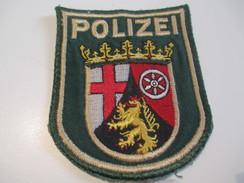 Ecusson Tissu Ancien /Police  / ALLEMAGNE/Rheinland/Années 1970 -1980  ET127 - Patches