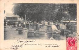 Thème Oblitération - GAMBIE / Bathurst - View Of The Market - Gambie