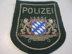 Ecusson Tissu Ancien /Police  / ALLEMAGNE/Rheinland/Années 1970 -1980  ET125 - Patches