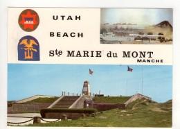 CP 10*15-ZC65-UTAH BEACH SAINTE MARIE DU MONT  1ST ENGINEER SPECIAL BRIGADE MONUMENT - Francia