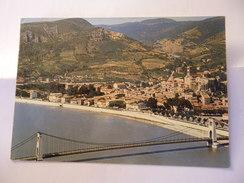 CPSM ARDECHE 07 LA VOULTE SUR RHONE LE PONT ET LA VILLE - La Voulte-sur-Rhône