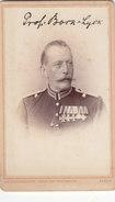 Foto Lyck Ostpreussen Offizier Prof. Bock Orden Ordenspange Arzt? Ek2 Roter Adlerorden Deutscher Soldat 1.Weltkrieg - Guerre, Militaire