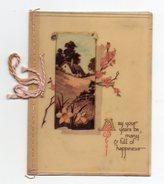 190-1) Carte De Noel ( Anglaise ? ) - Xmas