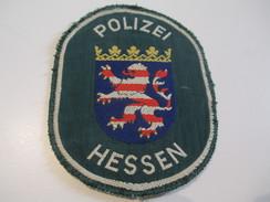 Ecusson Tissu Ancien /Police / ALLEMAGNE/Hessen /Années 1970 -1980  ET115 - Patches