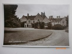 Postcard Landguard Manor Shanklin Isle Of Wight IOW From The Drive By Sweetman & Son RP  My Ref B1445 - England