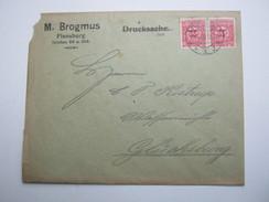 SCHLESWIG , 1920 , Brief Aus Flensburg - Deutschland