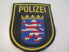 Ecusson Tissu Ancien /Police / ALLEMAGNE/Polizei Hessen /Années 1970 -1980  ET108 - Patches
