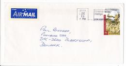 Mi 1626 Solo Stamp Cover - 13 June 2000 Southern MC, VIC 3169 To Denmark - 2000-09 Elizabeth II