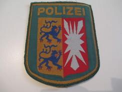 Ecusson Tissu Ancien /Police / ALLEMAGNE/Années 1970 -1980  ET107 - Ecussons Tissu