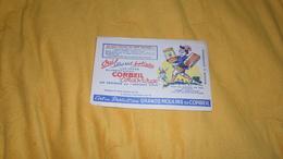 BUVARD GRANDS MOULINS DE CORBEIL. / CORBEIL CORDON ROUGE. - G