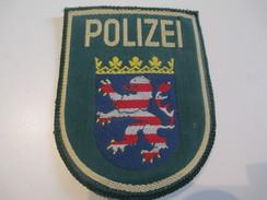 Ecusson Tissu Ancien /Police / ALLEMAGNE/Années 1970 -1980  ET106 - Patches