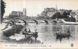 AUXERRE - 89 - Vue Prise En Aval Du Pont De La Tournelle - AUT2 - - Auxerre