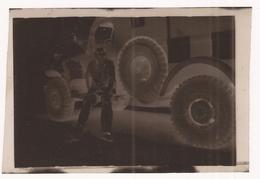Negatif Format 6 X 8  Militaire Assis Ambulance - Guerre, Militaire