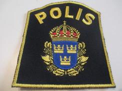Ecusson Tissu Ancien /Police / PAYS ? /Polis/ Années 1970 -1980  ET111 - Patches