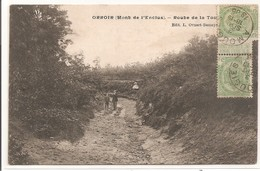 Belgique - ORROIR - (Mont De L'Enclus) - Route De La Tour - Belgique