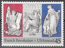 USA 1989, 200 Years Of FRENCH REVOLUTION, COMPLETE, MNH SET, GOOD QUALITY, *** - Stati Uniti
