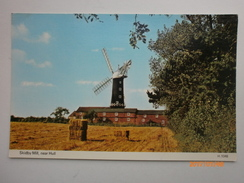Postcard Skidby Mill [ Windmill ] Near Hull East Riding Of Yorkshire My Ref B1450 - Hull