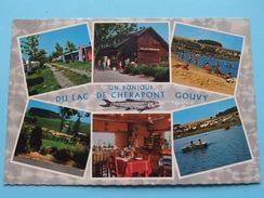 Un Bonjour Du LAC De CHERAPONT Gouvy Camping Pêche Canotage Plage Bains ( ) Anno 1977 ( Zie Foto Voor Details ) !! - Gouvy