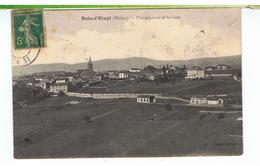 CPA-69-1906-LE BOIS-D'OINGT-VUE GENERALE ET LA GARE- - Le Bois D'Oingt