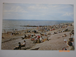 Postcard The Beach Cleveleys Lancashire My Ref B1451 - Autres