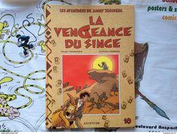 BD Jimmy Tousseul - Tome 10 - La Vengeance Du Singe - Desorgher - Desberg (E.O.) - Jimmy Tousseul