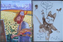 Smudja - Vincent Et Van Gogh - BD  EO + Dedicace - Dédicaces