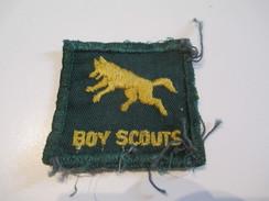 Ecusson Tissu Ancien /SCOUT/ CANADA /Loup/ Boy Scouts/ Années 1950-1960   ET139 - Patches